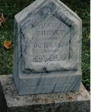 BURKET, JEREMIAH - Preble County, Ohio | JEREMIAH BURKET - Ohio Gravestone Photos