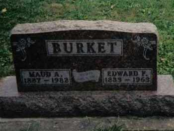 BURKET, MAUD A. - Preble County, Ohio | MAUD A. BURKET - Ohio Gravestone Photos