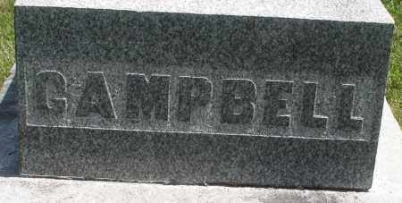 CAMPBELL, ? - Preble County, Ohio | ? CAMPBELL - Ohio Gravestone Photos