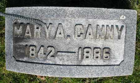 CANNY, MARY A. - Preble County, Ohio | MARY A. CANNY - Ohio Gravestone Photos