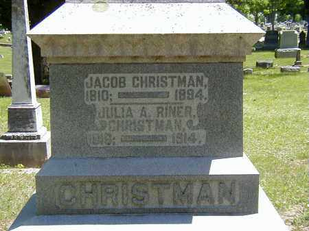 CHRISTMAN, JULIA A. - Preble County, Ohio | JULIA A. CHRISTMAN - Ohio Gravestone Photos