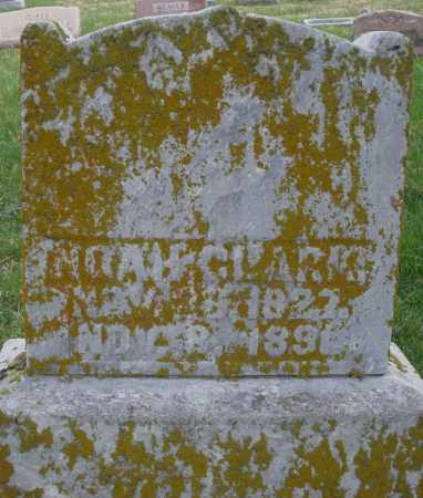 CLARK, NOAH - Preble County, Ohio | NOAH CLARK - Ohio Gravestone Photos