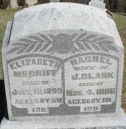 CLARK, RACHEL - Preble County, Ohio | RACHEL CLARK - Ohio Gravestone Photos