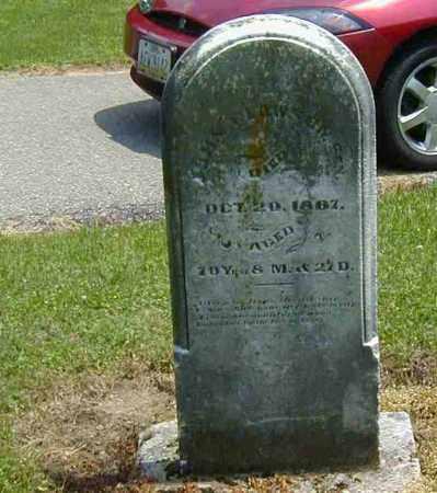CLAWSON, SEN., JOHN - Preble County, Ohio | JOHN CLAWSON, SEN. - Ohio Gravestone Photos