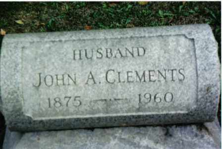 CLEMENTS, JOHN A. - Preble County, Ohio | JOHN A. CLEMENTS - Ohio Gravestone Photos