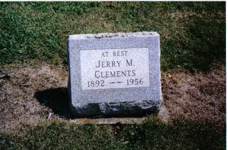 CLEMENTS, JERRY M. - Preble County, Ohio | JERRY M. CLEMENTS - Ohio Gravestone Photos