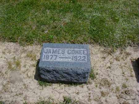 COHEE, JAMES - Preble County, Ohio | JAMES COHEE - Ohio Gravestone Photos