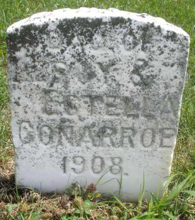 CONARROE, DAUGHTER - Preble County, Ohio | DAUGHTER CONARROE - Ohio Gravestone Photos