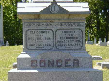 CONGER, LUCINDA - Preble County, Ohio | LUCINDA CONGER - Ohio Gravestone Photos