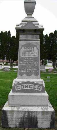 CONGER, PHEBE - Preble County, Ohio | PHEBE CONGER - Ohio Gravestone Photos