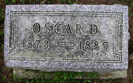 CONGER, OSCAR D. - Preble County, Ohio | OSCAR D. CONGER - Ohio Gravestone Photos