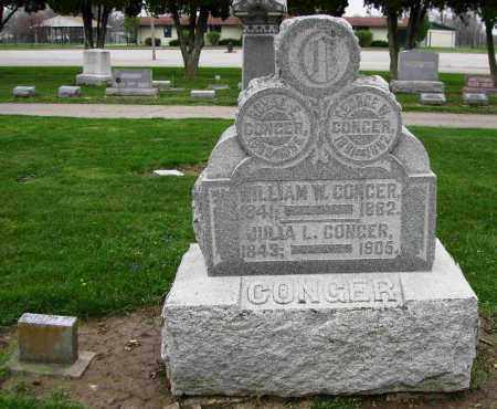 CONGER, JULIA L. - Preble County, Ohio | JULIA L. CONGER - Ohio Gravestone Photos