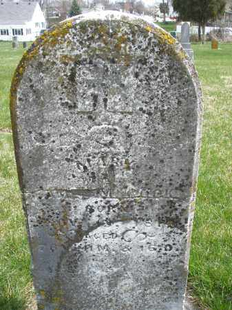 COOK, MARY - Preble County, Ohio | MARY COOK - Ohio Gravestone Photos