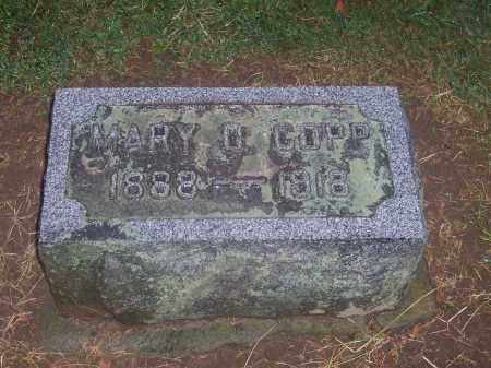 COPP, MARY - Preble County, Ohio | MARY COPP - Ohio Gravestone Photos