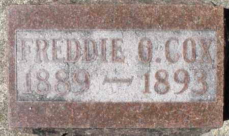 COX, FREDDIE O. - Preble County, Ohio   FREDDIE O. COX - Ohio Gravestone Photos