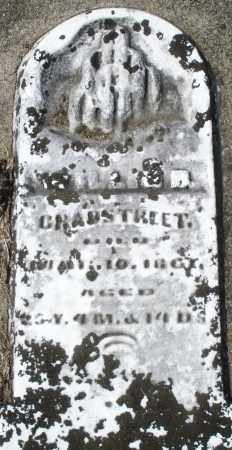 CRABSTREET, WILLIS - Preble County, Ohio | WILLIS CRABSTREET - Ohio Gravestone Photos