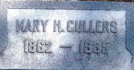 OVERHOLTS CULLERS, MARY - Preble County, Ohio | MARY OVERHOLTS CULLERS - Ohio Gravestone Photos