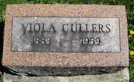 CULLERS, VIOLA - Preble County, Ohio | VIOLA CULLERS - Ohio Gravestone Photos
