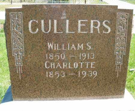 CULLERS, CHARLOTTE - Preble County, Ohio | CHARLOTTE CULLERS - Ohio Gravestone Photos