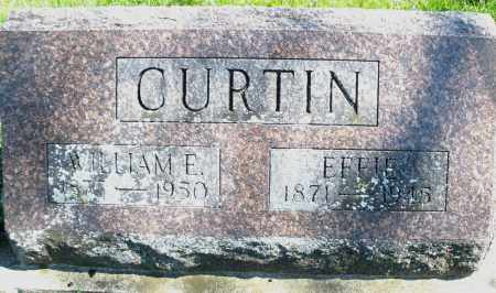 CURTIN, EFFIE - Preble County, Ohio | EFFIE CURTIN - Ohio Gravestone Photos
