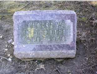 DEARDORFF, GEORGE W. - Preble County, Ohio | GEORGE W. DEARDORFF - Ohio Gravestone Photos