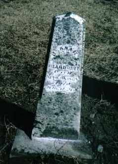 DEARDORFF, SUSANAH E. - Preble County, Ohio | SUSANAH E. DEARDORFF - Ohio Gravestone Photos