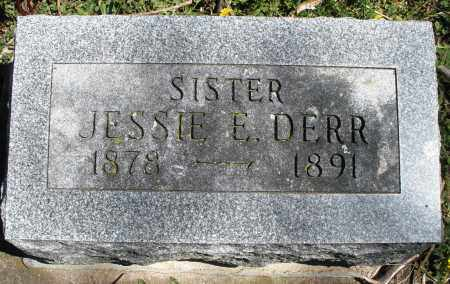 DERR, JESSIE E. - Preble County, Ohio | JESSIE E. DERR - Ohio Gravestone Photos