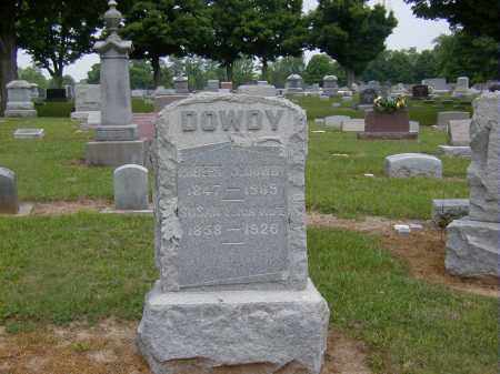 DOWDY, ROBERT J. - Preble County, Ohio | ROBERT J. DOWDY - Ohio Gravestone Photos