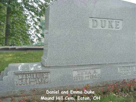 DUKE, EMMA - Preble County, Ohio | EMMA DUKE - Ohio Gravestone Photos