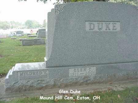 DUKE, GLEN - Preble County, Ohio | GLEN DUKE - Ohio Gravestone Photos