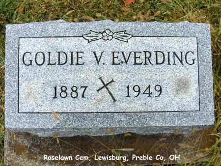 EVERDING, GOLDIE - Preble County, Ohio | GOLDIE EVERDING - Ohio Gravestone Photos