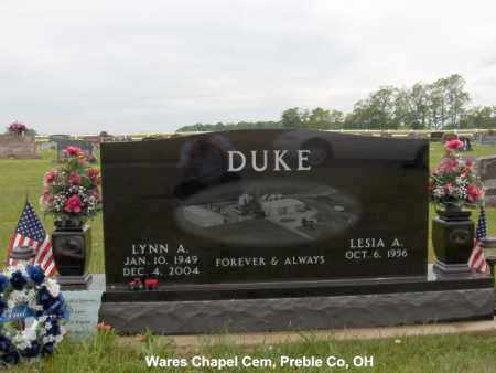 DUKE, LYNN - Preble County, Ohio | LYNN DUKE - Ohio Gravestone Photos