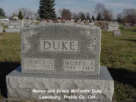 DUKE, MOREY A - Preble County, Ohio | MOREY A DUKE - Ohio Gravestone Photos