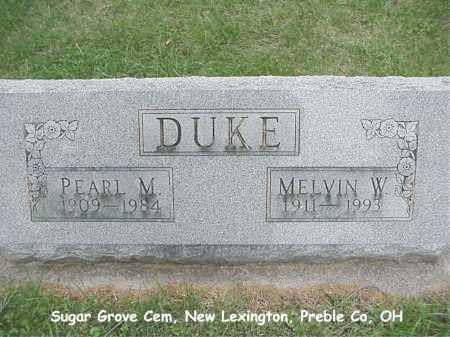 DUKE, MELVIN - Preble County, Ohio | MELVIN DUKE - Ohio Gravestone Photos