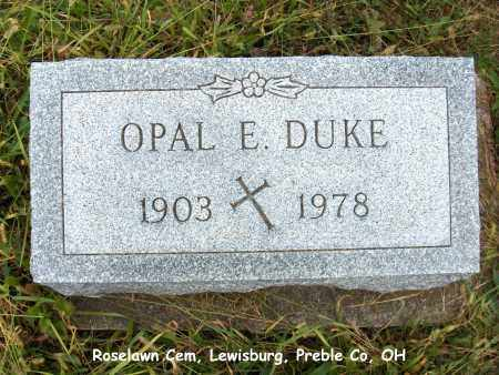 DUKE, OPAL - Preble County, Ohio | OPAL DUKE - Ohio Gravestone Photos