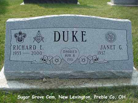 DUKE, RICHARD - Preble County, Ohio | RICHARD DUKE - Ohio Gravestone Photos