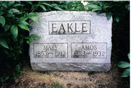 EAKLE, AMOS - Preble County, Ohio | AMOS EAKLE - Ohio Gravestone Photos