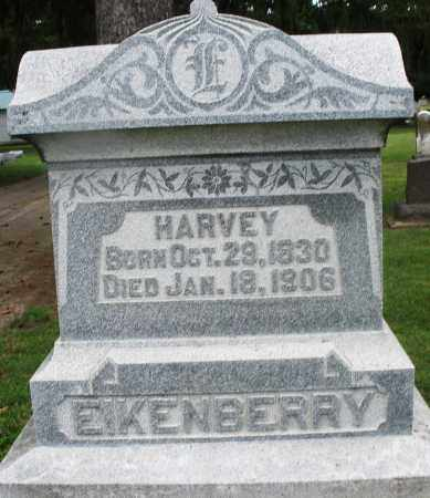 EIKENBERRY, HARVEY - Preble County, Ohio | HARVEY EIKENBERRY - Ohio Gravestone Photos