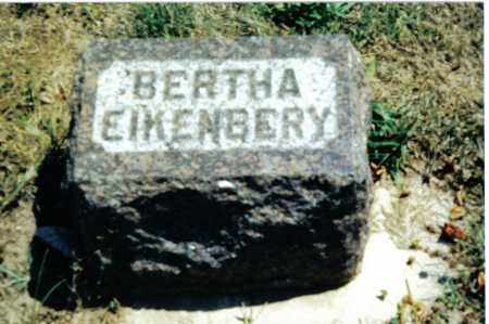 EIKENBERY, BERTHA - Preble County, Ohio | BERTHA EIKENBERY - Ohio Gravestone Photos