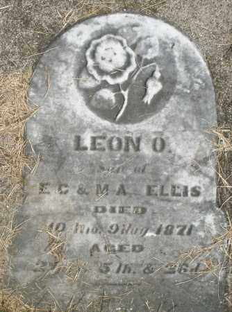 ELLIS, LEON O. - Preble County, Ohio | LEON O. ELLIS - Ohio Gravestone Photos