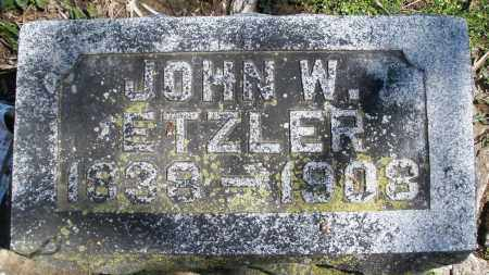 ETZLER, JOHN W. - Preble County, Ohio | JOHN W. ETZLER - Ohio Gravestone Photos