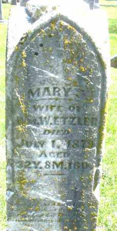 ETZLER, MARY J. - Preble County, Ohio | MARY J. ETZLER - Ohio Gravestone Photos
