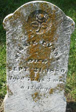 EVANS, WINNIE - Preble County, Ohio | WINNIE EVANS - Ohio Gravestone Photos