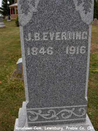 EVERDING, JOHN - Preble County, Ohio | JOHN EVERDING - Ohio Gravestone Photos