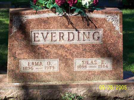 EVERDING, SILAS E - Preble County, Ohio | SILAS E EVERDING - Ohio Gravestone Photos