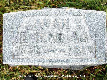 EVERDING, SARAH - Preble County, Ohio | SARAH EVERDING - Ohio Gravestone Photos