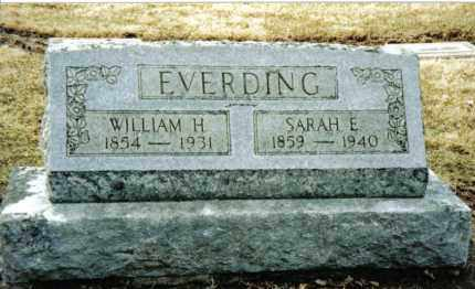 EVERDING, SARAH E. - Preble County, Ohio | SARAH E. EVERDING - Ohio Gravestone Photos