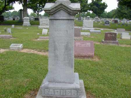 FADLER, MARY E. - Preble County, Ohio | MARY E. FADLER - Ohio Gravestone Photos