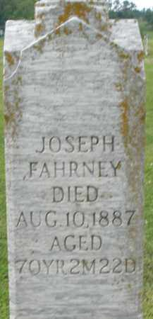 FAHRNEY, JOSEPH - Preble County, Ohio | JOSEPH FAHRNEY - Ohio Gravestone Photos