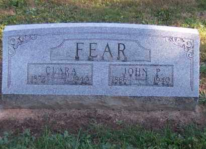 FEAR, JOHN - Preble County, Ohio | JOHN FEAR - Ohio Gravestone Photos